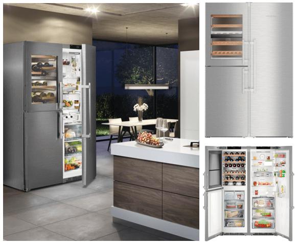 Liebherr American style fridge freezers